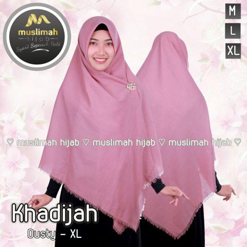 Jilbab Muslmah Hijab Khadijah Dusty