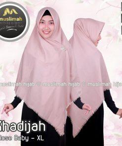 Jilbab Muslimah Hijab Khadijah Rose Baby