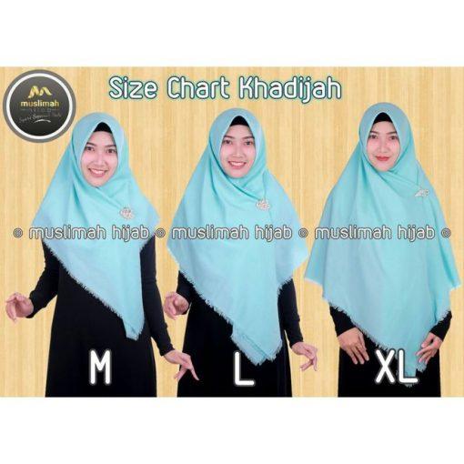 Jilbab Muslimah Hijab Khadijah Tosca Muda