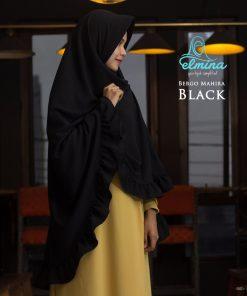 Jilbab Elmina Bergo Mahira Black