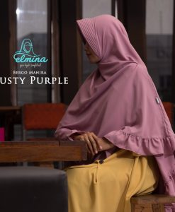 Jilbab Elmina Bergo Mahira Dusty Purple
