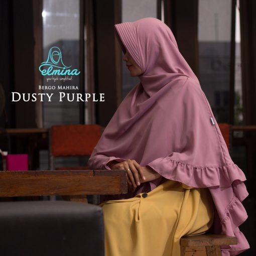 Jilbab Elmina Bergo Mahira Dusty Purple