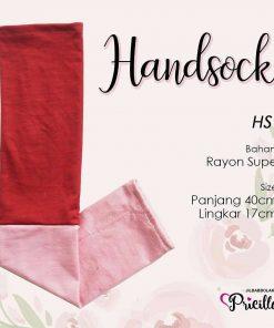 Handsock Jempol Pricilla Bolak-Balik Vanilla Rose
