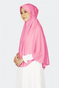 Hijab Alsa Kalila Pink Fanta XL