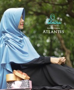 Jilbab Elmina Bergo Umaya Atlantis