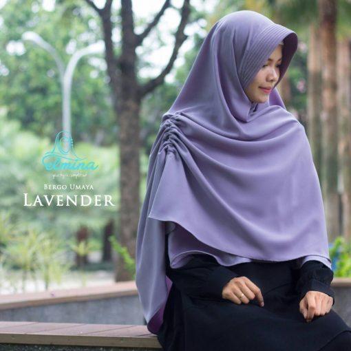 Jilbab Elmina Bergo Umaya Lavender