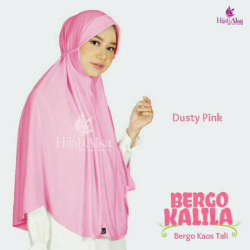 Hijab Alsa Kalila Dusty Pink