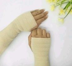 Handsock Rajut Naureen Cream
